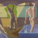 Alan Mackay - Bathers from the House of the Dead No. 4